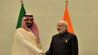 PM Modi Meets Saudi Deputy Crown Prince Mohammad bin Salman