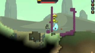 Starbound Inactive Robot Boss fight