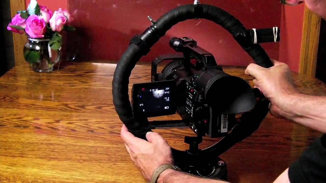 Video Camera Stabilizer >> $29 DIY Fig Rig - camera stabilizer - Wheel Cam Pro ...