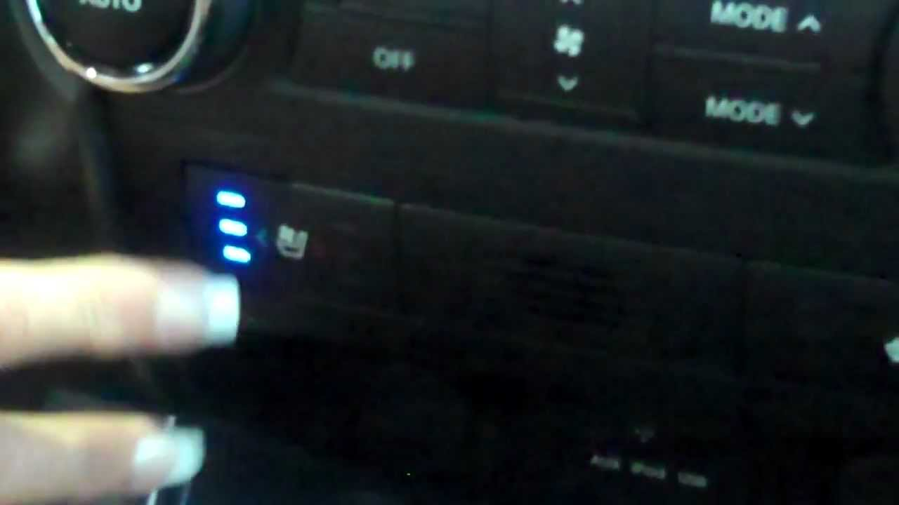 Kia Sorento Cool U0026 Heated Seat Functions