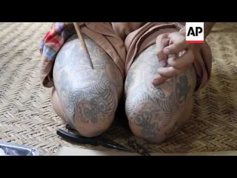 Tattoos Of Aung San Suu Kyi Popular In Myanmar