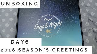 UNBOXING | DAY6 - Day & Night 2018 Season's Greetings