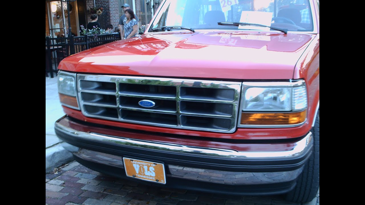 Mid 90s Ford F150 Xlt Red Wgdn021812 Youtube