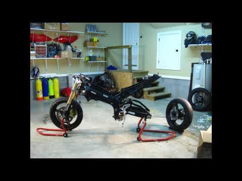 Self assembling Motorcycle!