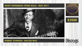 Discogs Top 30 Most Expensive Records And Items Sold in May 2017