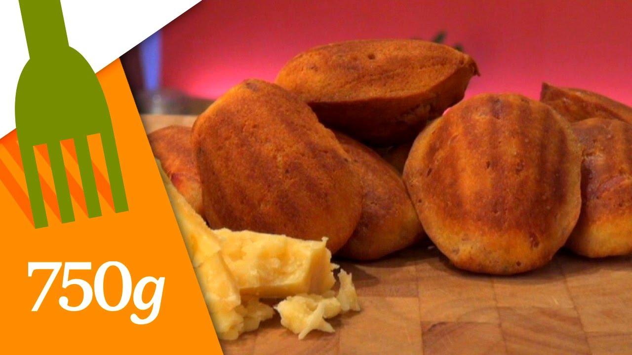 recette de madeleines au parmesan - 750 grammes - youtube