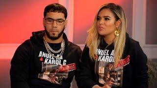 Anuel AA y Karol G se confiesan amor por primera vez en entrevista
