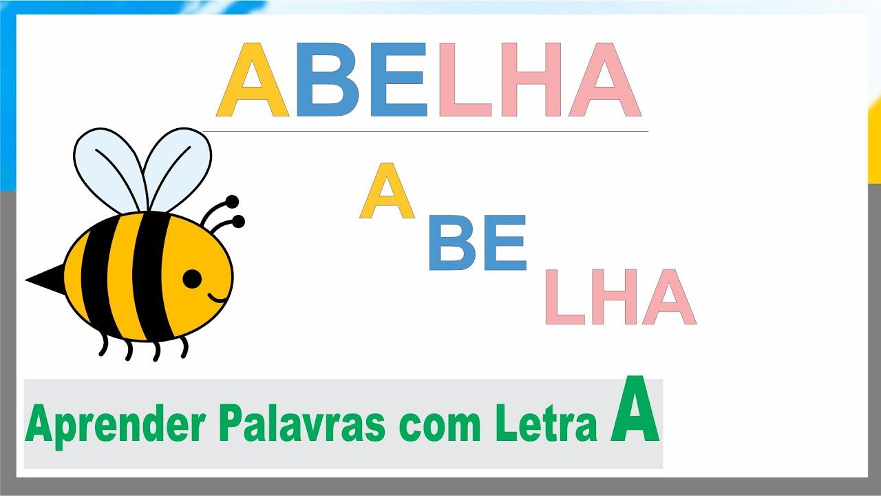 Populares Aprender Formar Sílabas e Palavras Iniciado com A - YouTube GB71
