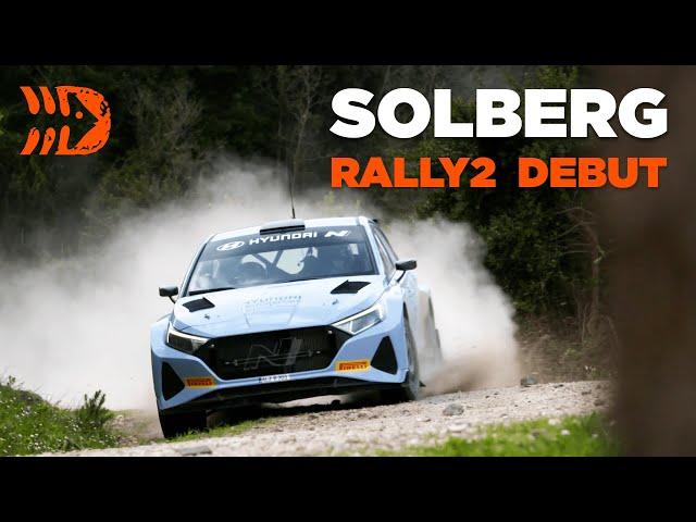 Solberg To Drive NEW Hyundai i20 N Rally2 at Ypres Rally 2021