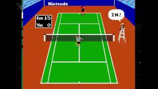Tennis for the NES (1983)