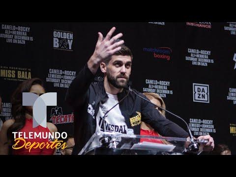 """Rocky Fielding a Canelo Álvarez: """"Soy un campeón y creo en mí""""   Telemundo Deportes"""