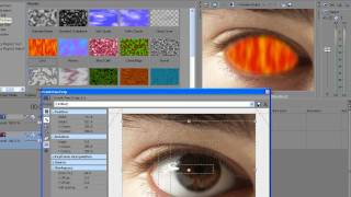 Sony Vegas - Eye effect (HD)