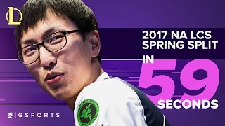 The 2017 NA LCS Spring Split in 59 seconds