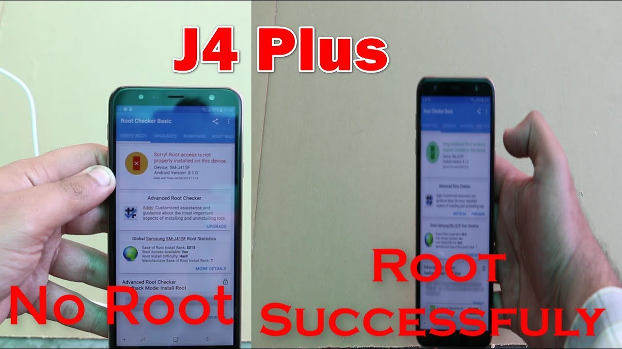 100% How to root Samsung J4 plus 2019 8 1 0
