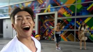 댄싱9 박인수의 화려한 비보잉 GAMBLERZ CREW - BBOY KILL in Singapore