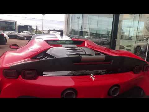 The new Ferrari SF90 has arrived in Perth! MUST SEE! Pt 2
