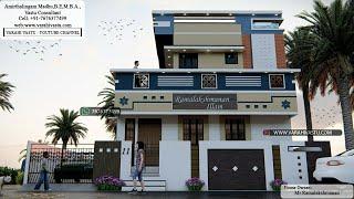 கிழக்கு பார்த்த வீடு வரைபடம் அமைப்பு - வாஸ்து சாஸ்திரம்:East facing House drawing| Vastu Consultant