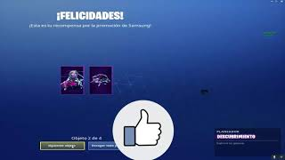 I have THE SKIN GALAXY! FORTNITE-Renzo 😎