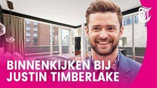 Wie helpt Justin Timberlake van luxe appartement af?