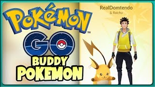 POKÉMON GO: Buddy-Pokémon Funktion per Update!