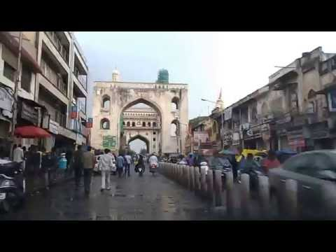 Charminar & Surrounding Areas-Hyderabad-India