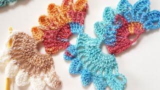 Örgü Fular Şal /Elti Eltiye Küstü/ Crochet Scarf Shawl