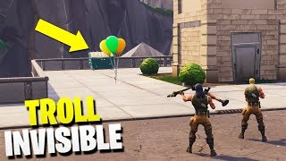 I MAKE INVISIBLE AND TROLLEO TO SUBSCRIBER😂😂 'Glitch/Failure' - Fortnite Funny Moments
