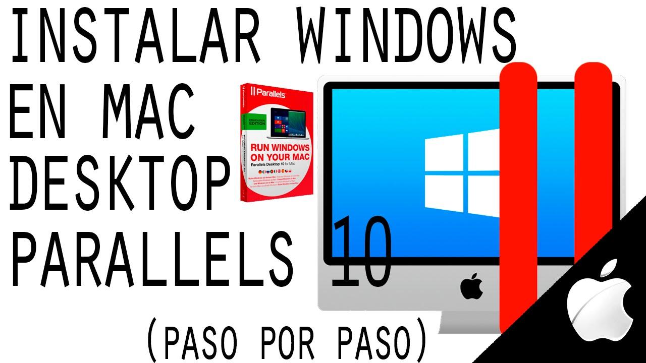 como instalar windows 8 en mac parallels