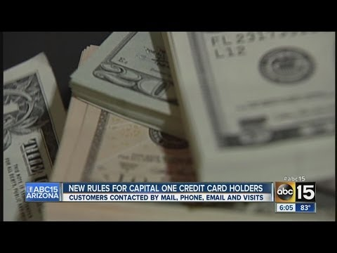 New Rules For Capital One Credit Card Holders