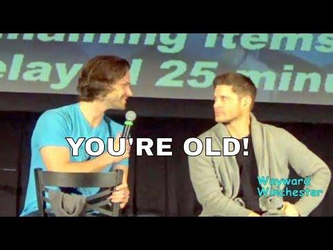 Jared Padalecki Calls Jensen 'Old' Hurts His Feelings NashCon 2018