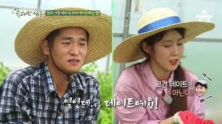훈남훈녀 참외 부부, 참외 농사 때문에 결혼식도 앞당겼다?! #데이트썰