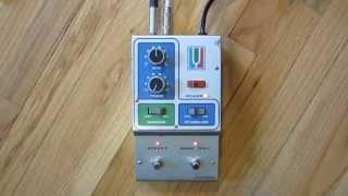 Musitronics Octave Divider Demo Mutron