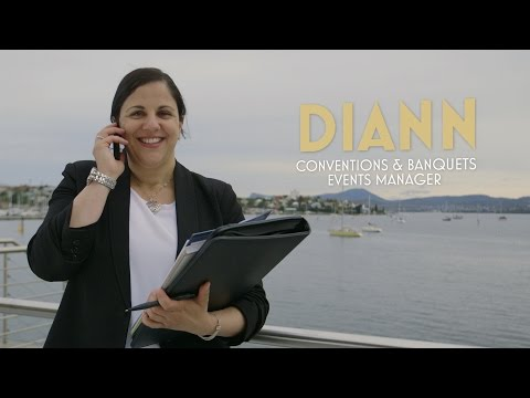 Diann - Conventions & Banquets Events Manager, Wrest Point