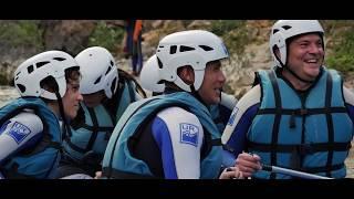 Rafting en Murillo de Gállego con UR Pirineos : ¡disfruta de la aventura por excelencia!