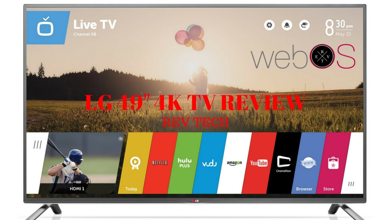 Lg 4k 49 Tv Review Youtube