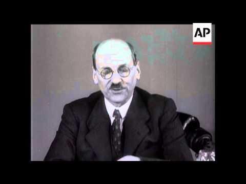 Attlee's Election Speech
