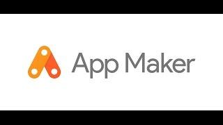 Google app maker   low code app maker by google