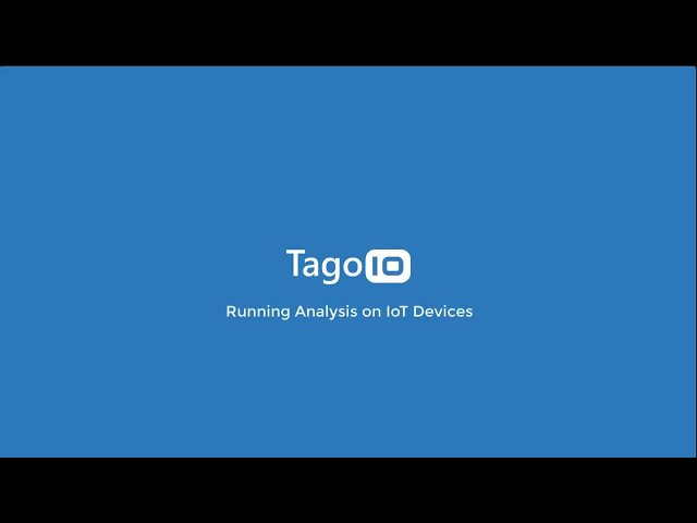 Running Analysis on IoT Devices
