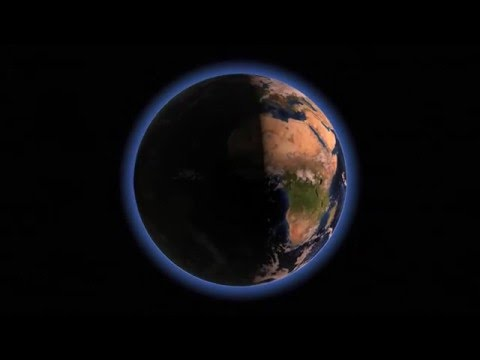 Earth + Moon + Sun | LQ Solar System Test Render | Cinema 4D