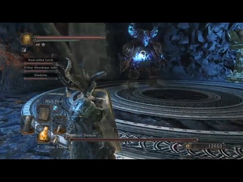 Dark Souls 2: Scholar of the First Sin - Part 24: Smelter Demon & Fume Knight