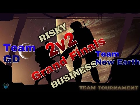 Team New Earth vs Team GD - Risky Business 2v2 Grand Finals Game 2