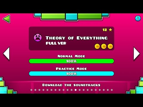 Geometry Dash - Theory of Everything (FULL VER) All Coin / ♬ Partition
