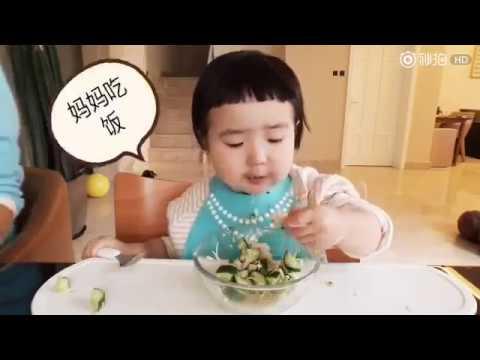 Cute baby big appetite eating Timelapse 小蛮