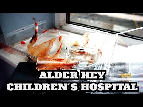 ABANDONED ALDER HEY CHILDREN'S HOSPITAL (EMOTIONAL EXPLORE)