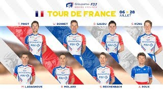 La bande-annonce de l'Equipe Groupama-FDJ pour le Tour de France 2019