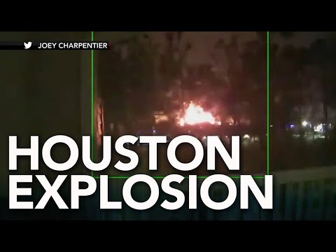 Houston explosion rocks neighborhood, felt throughout the area