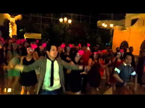 Staff Dance at Marriot Hotel Dubai