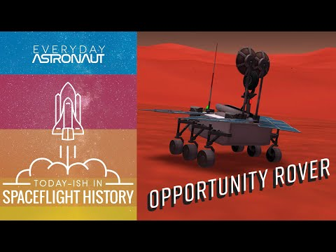 Mars Opportunity Rover landing! This Week in Spaceflight History S2:E1