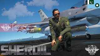 'SHERDIL' THE LION HEART By AirStrikeFalcons | GTA 5 Pakistan Air Force Mods!