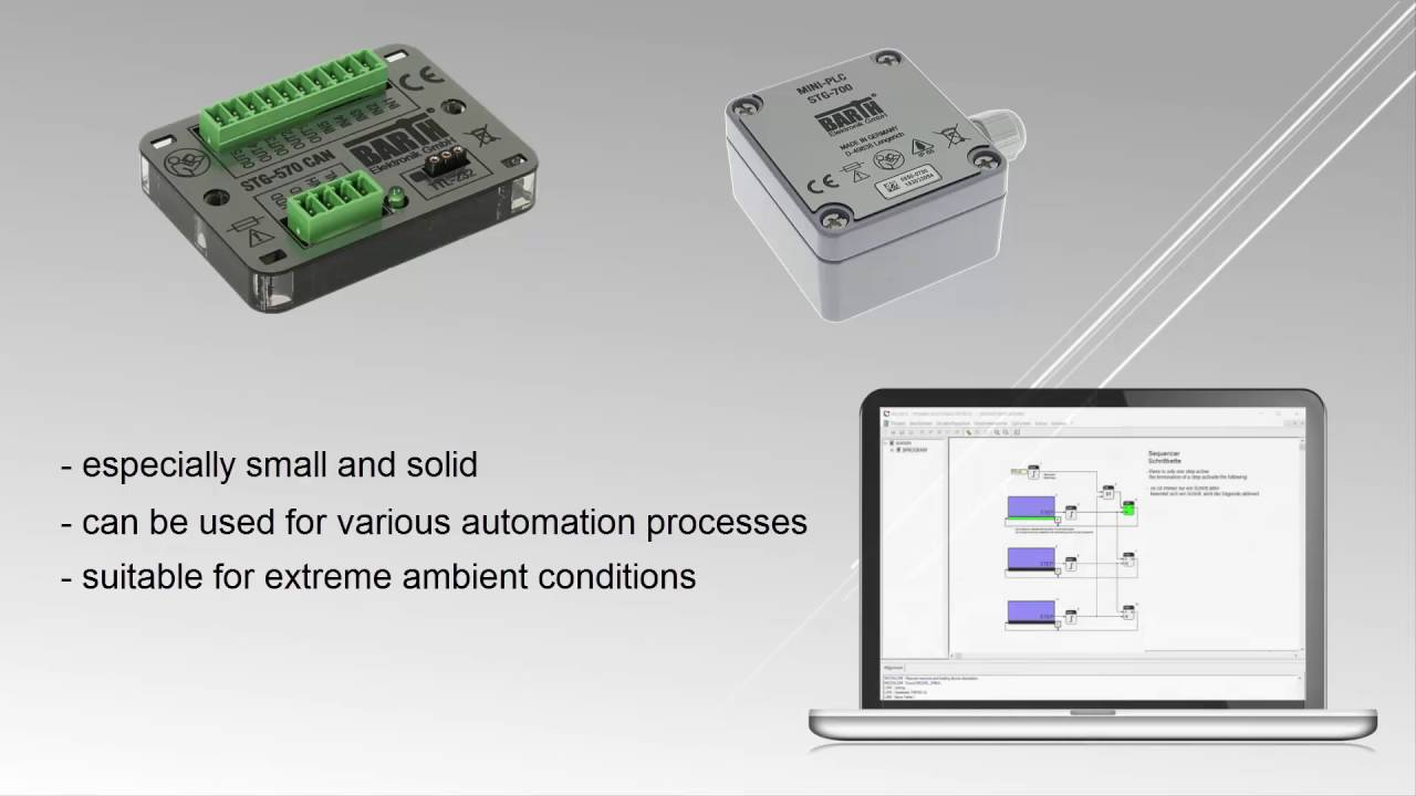 How to build an application with Barth PLC and Stepper Motors